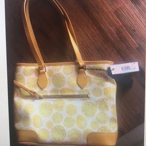 NWT Dooney & Bourke Limone tote handbag